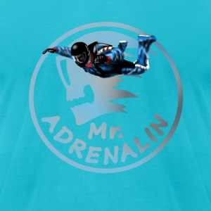 Mr  Adrenalin Skydive T-Shirts - Men's T-Shirt by American Apparel
