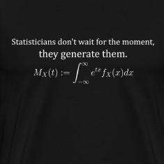 Statisticians don't wait for the moment (dark)
