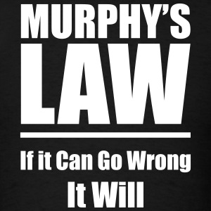 Murphys Law v2 Vector T-Shirts - Men's T-Shirt