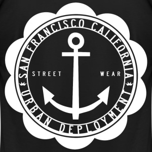 San Francisco Streetwear - Men's T-Shirt by American Apparel