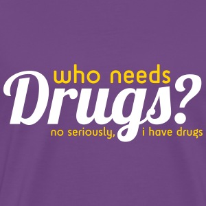 Drugs T-Shirts - Men's Premium T-Shirt