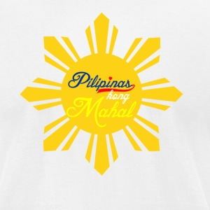 Pilipinas kong Mahal - Men's T-Shirt by American Apparel
