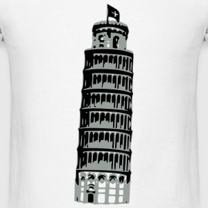 Leaning Tower Of Pisa T-Shirts - Men's T-Shirt