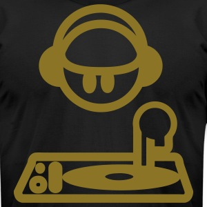 DJ Mixer - Men's T-Shirt by American Apparel
