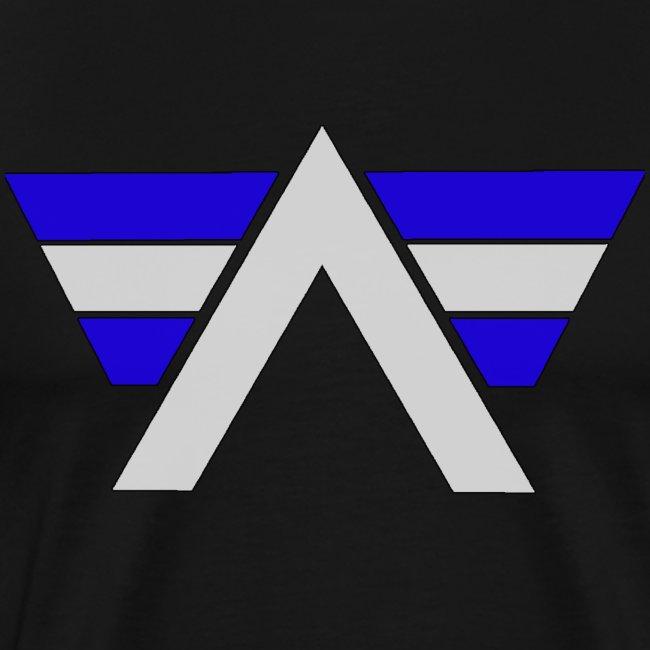 AeRo Logo Blue White