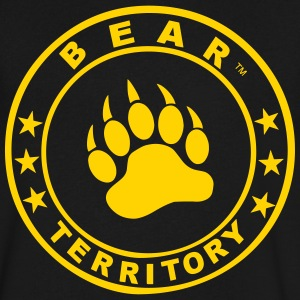 BEAR TERRITORY - Men's V-Neck T-Shirt by Canvas