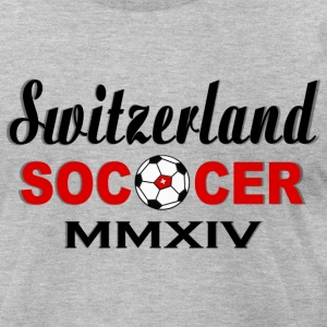 Soccer Team Fan - Switerland - Men's T-Shirt by American Apparel