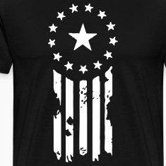 Old World Justice Flag (Fallout) T-Shirts