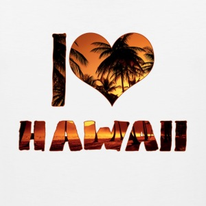 I LOVE HAWAII - Men's Premium Tank