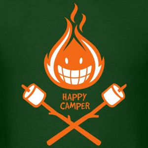 Happy Camper 2-color T-Shirts - Men's T-Shirt
