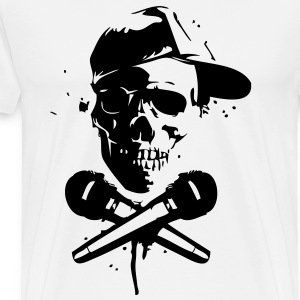 Skull Rap - Men's Premium T-Shirt
