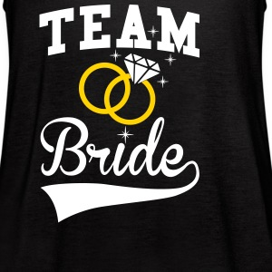 Team Bride Tanks - Women's Flowy Tank Top by Bella