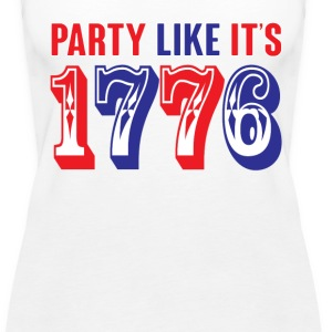 party like its 1776 Tanks - Women's Premium Tank Top