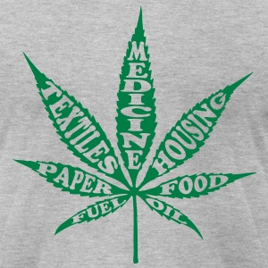 Uses 4 Hemp - Men's T-Shirt by American Apparel