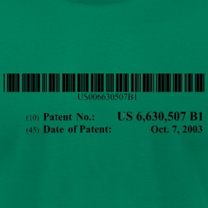 US Patent #6630507 - Men's T-Shirt by American Apparel