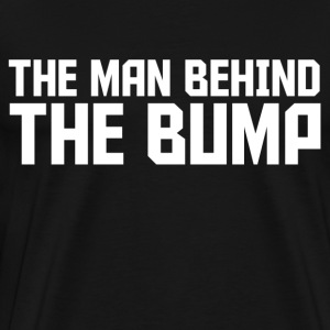 the_man_behind_the_bump T-Shirts - Men's Premium T-Shirt
