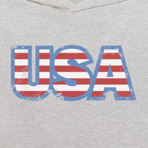 USA Flag Retro Sweatshirts - Kids' Hoodie