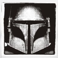 Design ~ Boba Fett Black and White Women
