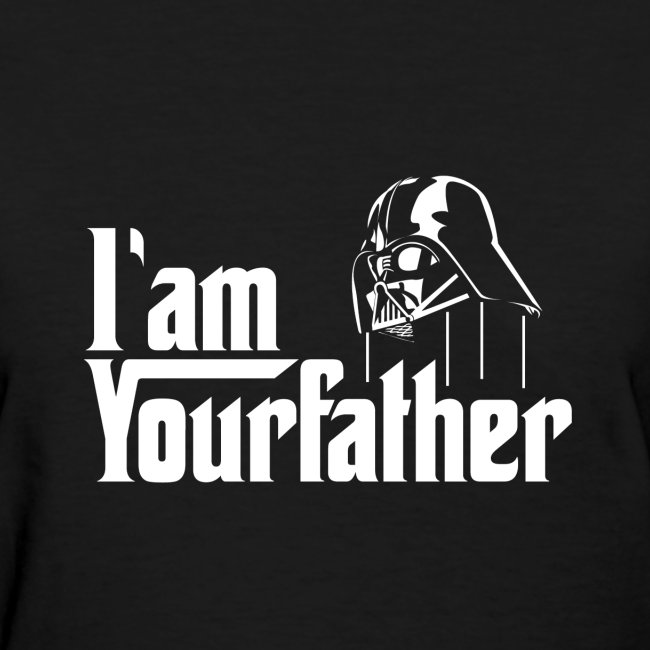 SKYF-01-030 Darth Vader iam your father Women