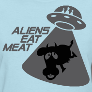 Design ~ SKYF-01-060-alien eats meat Women