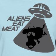 Design ~ SKYF-01-060-alien eats meat Women