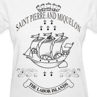 Design ~ SKYF-01-064-st pierre and miquelon Women