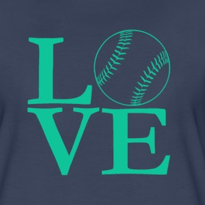 Love baseball tee - Women's Premium T-Shirt