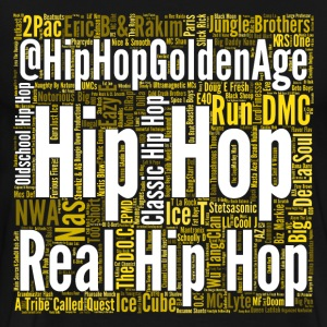 Hip Hop Artist Wordcloud T-Shirts - Men's Premium T-Shirt