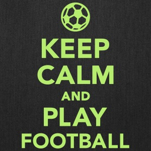 Keep calm and Play Football Bags & backpacks - Tote Bag