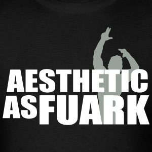 Zyzz Aesthetic as FUARK T-Shirts - Men's T-Shirt