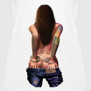 Bad Girl - Women's Premium Tank Top