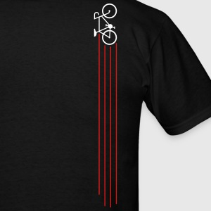Bike Streak (back) - Men's T-Shirt