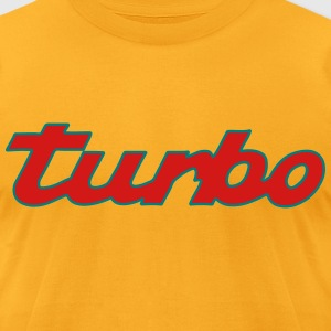 turbo T-Shirts - Men's T-Shirt by American Apparel