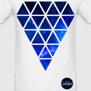 Galaxy Diamond T-Shirts - Men's T-Shirt