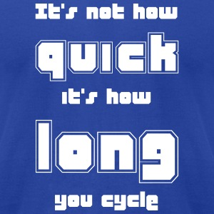 Cycle Length - Men's T-Shirt by American Apparel