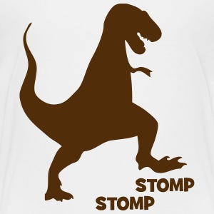 dinosaur stomp Baby & Toddler Shirts - Toddler Premium T-Shirt