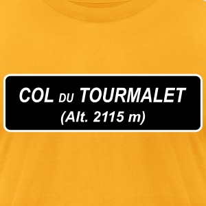 Col du Tourmalet 'Assassins' - Men's T-Shirt by American Apparel