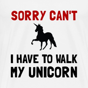 Walk Unicorn - Men's Premium T-Shirt