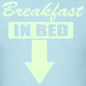 BREAKFAST IN BED T-Shirts - Men's T-Shirt