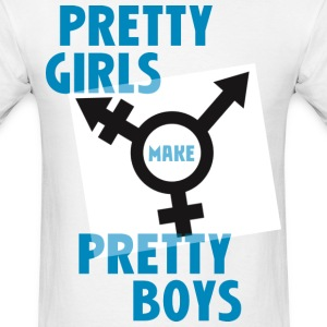 pretty boys 1 T-Shirts - Men's T-Shirt