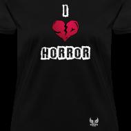 Design ~ I Heart Horror Women's T-shirt