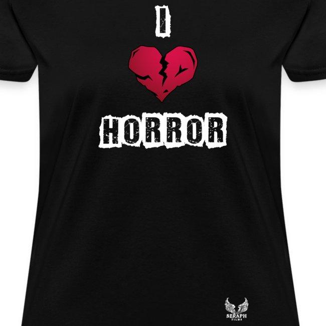 I Heart Horror Women's T-shirt