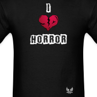 Design ~ I Heart Horror Men's T-shirt