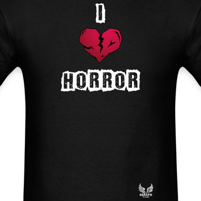 I Heart Horror Men's T-shirt