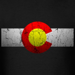 Vintage Colorado Flag - Men's T-Shirt