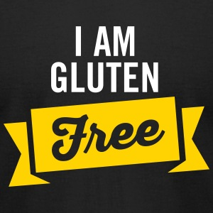 I Am Gluten Free T-Shirts - Men's T-Shirt by American Apparel
