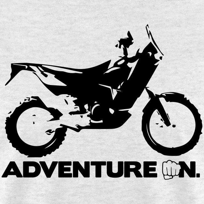 """Orange Adventure On"" - Black Logo"