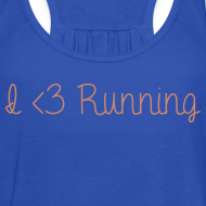 Design ~ I Love Running w/ Pink Glitz
