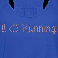 Design ~ I Love Running w/ Pink Glitz