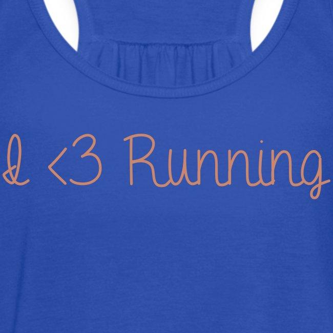 I Love Running w/ Pink Glitz
